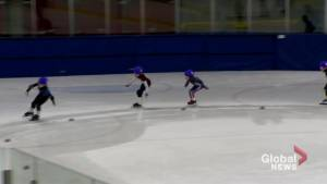 Speed skaters take over DDO Civic Centre