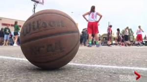 Hoops for Hope raising funds for cystic fibrosis