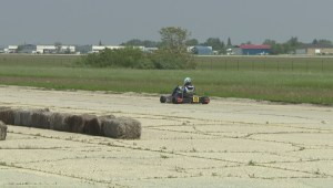 Go Kart racer with autism inspiring others