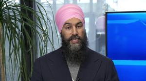 Federal NDP leader Jagmeet Singh says it's 'ludicrous' to think Liberals want him to win