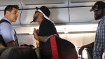 Passenger on American Airlines argues with staff over beer before starting fight