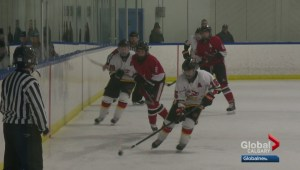 Calgary midget hockey playoffs: Airdrie Lightning versus Calgary Fire