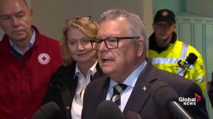 Goodale praises the 'ordinary people who were there for each other' during Ottawa tornado
