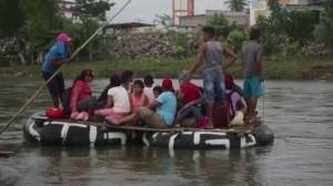 Mexico turns back migrants trying to cross border from Guatemala