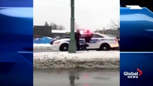 Laval police arrest caught on video