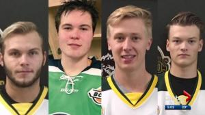 Special hockey tournament in St. Albert for Humboldt Broncos players