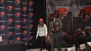 Mike Reilly officially unveiled as a BC Lion