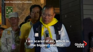 """Team commander says oxygen """"biggest obstacle"""" in Thai cave rescue"""