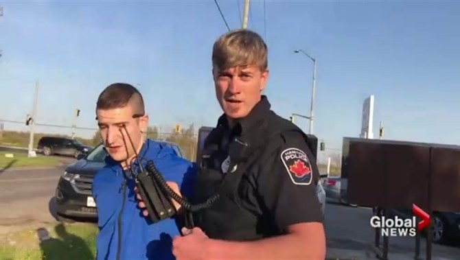 Hamilton cop charged under Police Services Act for arrests of cameramen