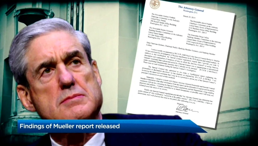 Redacted Mueller report into Trump to be released today