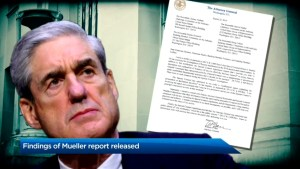Findings of Mueller report released, Trump reacts 'complete and total exoneration'