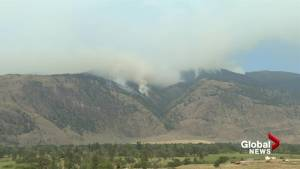 Scenes from the Snowy Mountain wildfire