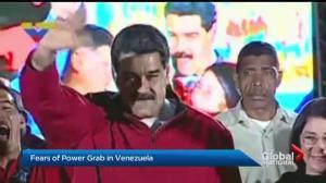 Pressure mounts on Canada to slap sanctions on Venezuelas president