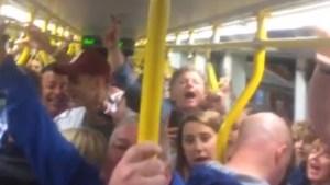 Passengers sing Oasis song following #OneLoveManchester concert
