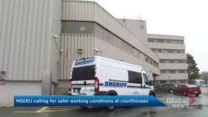 Scuffle at Dartmouth courthouse puts spotlight on sheriff safety