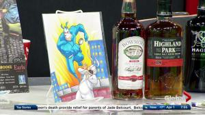 Happy Harbor Comics Superheroic Scotch Tasting and Silent Auction in support of the Leukemia & Lymphoma Society of Canada