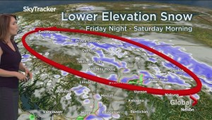 B.C. evening weather forecast: Apr 25