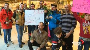 Syrian refugees hold 'thank you Canada' gathering at Saskatoon mall