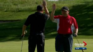 Calgarians swing into action for Special Olympics