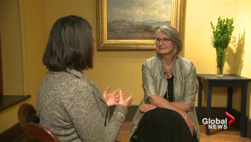 Click to play video 'Focus Montreal: One-on-one with Louise Penny'
