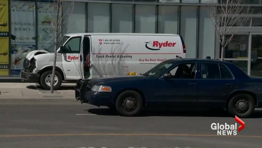 Toronto van driver resented women, online post suggests