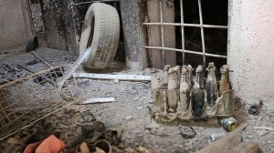 Exclusive: Suspected chemical weapons lab in Mosul has yet to be cleaned up