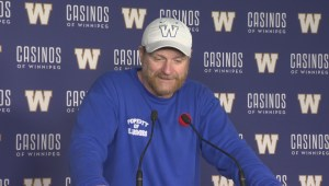 RAW: Blue Bombers Mike O'Shea Media Briefing – Nov. 9