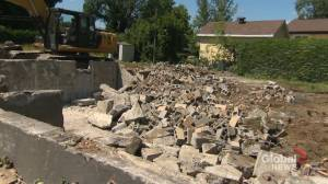 Beauce flood zone demolished (02:10)