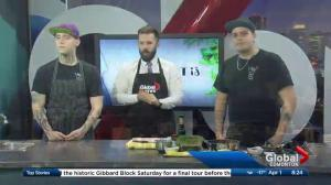 Why Not Cafe & Bar shows off northern Canadian collaboration dinner in the Global Edmonton kitchen (1/3)