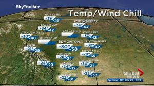 Edmonton early morning weather forecast: Friday, December 29, 2017