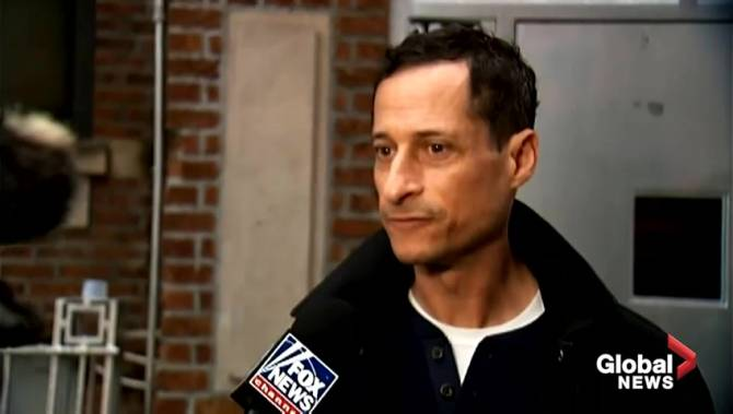 Anthony Weiner leaves halfway house after completing sentence for sexting scandal