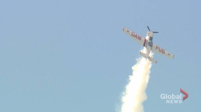 Saskatchewan Airshow soars in the skies, sees capacity problems at ground level