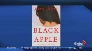 "Author Joan Crate on her book ""Black Apple"""