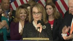 'We must never stop fighting': Gabby Giffords reacts to bipartisan bill to expand firearm background checks