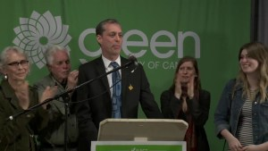 Green party celebrates B.C. byelection victory