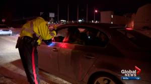 30+ Edmonton drivers impacted by new impaired driving laws (01:32)