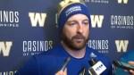 RAW: Blue Bombers Matt Nichols Post Game