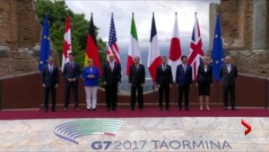 G7 leaders arrive in Italy prepared for tense talks on climate change, global security
