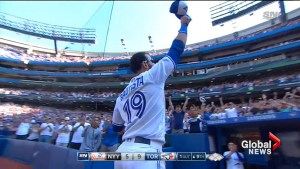Jose Bautista raises cap in probable curtain call as Toronto Blue Jay
