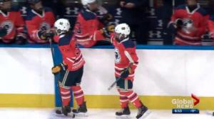 Young Alberta hockey players enjoy thrill of a lifetime at Rogers Place