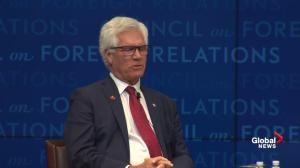 Carr says Canada working hard on signing other trade agreements