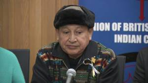 Grand Chief Stewart Phillip and his opposition to the pipeline and NEB decision