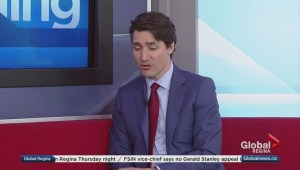 Justin Trudeau in Regina