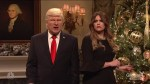Alec Baldwin's Trump hangs ornaments of former staff, Robert Mueller, Roy Moore in SNL cold open