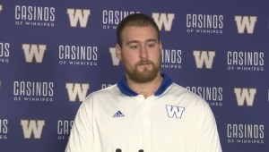RAW: Blue Bombers Geoff Gray Media Conference – Oct. 15