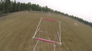 Drone racing in Steinbach