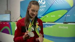 Behind the lens:  Gold medallist Penny Oleksiak and her family on her Olympic stardom