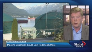 Trans Mountain pipeline expansion could cost $1.9 billion more