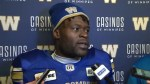 RAW: Blue Bombers Kenbrell Thompkins Post Game
