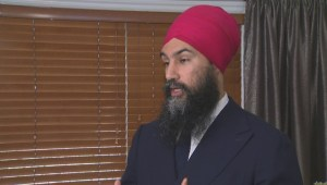 NDP leader unveils parties plan for universal prescription coverage